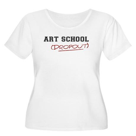 Art School Dropout Women's Plus Size Scoop Neck T-