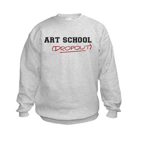 Art School Dropout Kids Sweatshirt