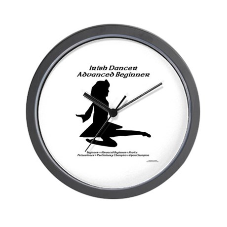 Girl Adv Beginner - Wall Clock