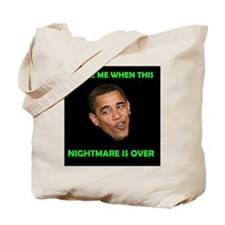 WHAT A NIGHTMARE Tote Bag