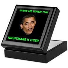 WHAT A NIGHTMARE Keepsake Box