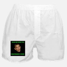 WHAT A NIGHTMARE Boxer Shorts