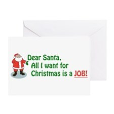 Cute Unemployed Greeting Card