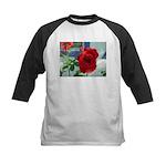 Flower #18, Kids Baseball Jersey