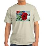 Flower #18, Ash Grey T-Shirt