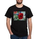 Flower #18, Black T-Shirt