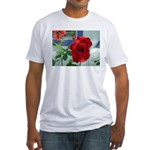 Flower #18, Fitted T-Shirt