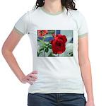 Flower #18, Jr. Ringer T-Shirt