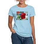Flower #18, Women's Pink T-Shirt