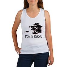 STAY IN SCHOOL Women's Tank Top