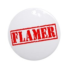 Flamer Ornament (Round)