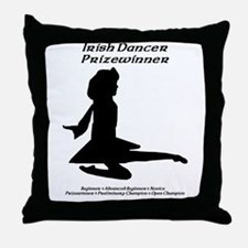 Girl Prizewinner - Throw Pillow