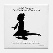 Girl Prelim - Tile Coaster