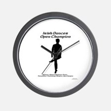 Boy Open Champ - Wall Clock