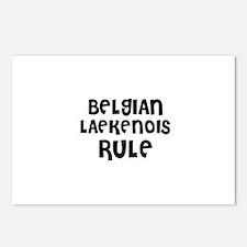 BELGIAN LAEKENOIS RULE Postcards (Package of 8)