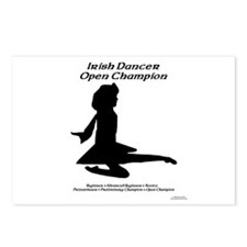 Girl Open Champ - Postcards (Package of 8)