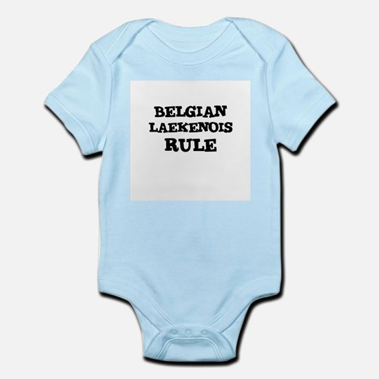 BELGIAN LAEKENOIS RULE Infant Creeper