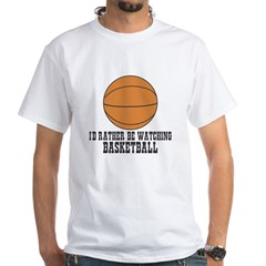 I'd rather be watching basket Shirt