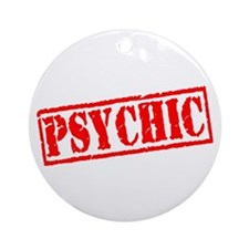 Psychic Ornament (Round)