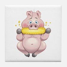 Hungry Piggies Tile Coaster