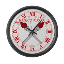 BLESSED IMBOLC Large Wall Clock