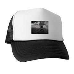 Holga Rat on a See-Saw Trucker Hat