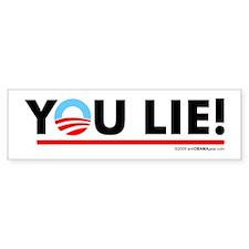 You Lie! 2 Bumper Bumper Sticker