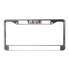 You Lie! 2 License Plate Frame