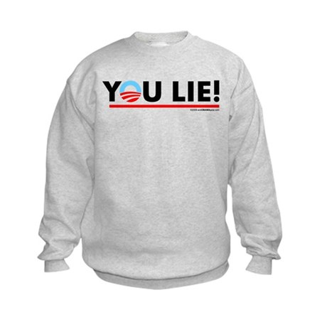 You Lie! 2 Kids Sweatshirt