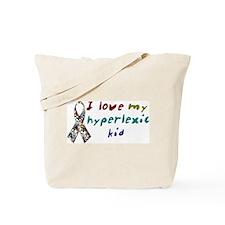 I Love My Hyperlexic Kid Tote Bag