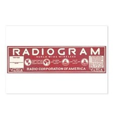 RCA Radiogram Postcards (Package of 8)