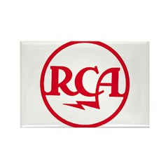 RCA meatball Rectangle Magnet (10 pack)