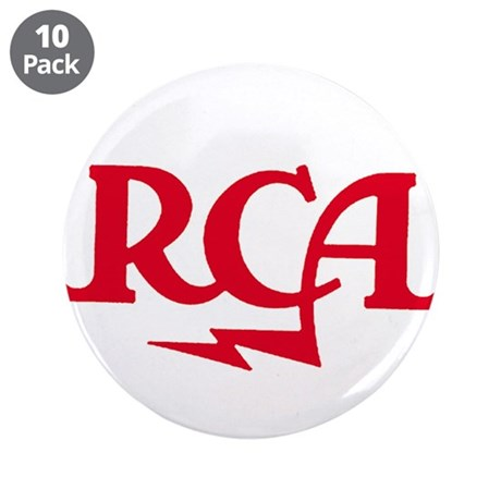 """RCA meatball 3.5"""" Button (10 pack)"""