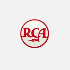 RCA meatball Mini Button