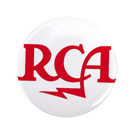 """RCA meatball 3.5"""" Button"""