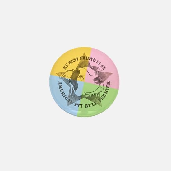 My Best Friend (Color) Mini Button