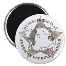"My Best Friend 2.25"" Magnet (100 pack)"
