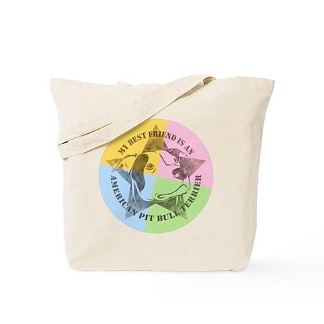 My Best Friend (Color) Tote Bag