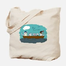 Trouble on Deck Tote Bag