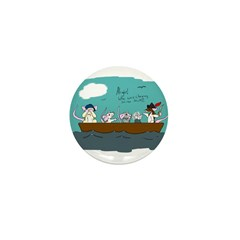 Trouble on Deck Mini Button (10 pack)