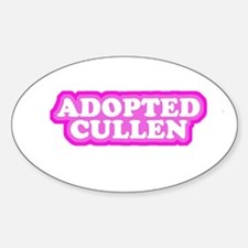 Adopted Cullen Oval Decal