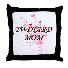 Cute Twilight mom Throw Pillow