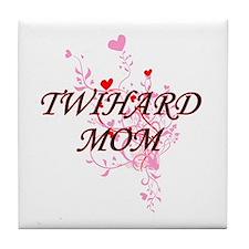 Cute Twihard Tile Coaster