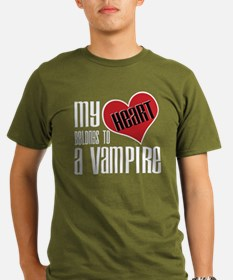 Heart Belongs Vampire T-Shirt