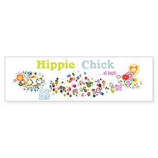- Hippie Chick ... at heart Bumper Sticker