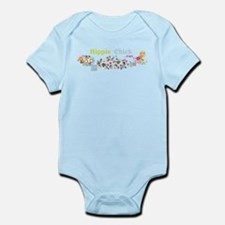 Hippie Chick at Heart Infant Bodysuit