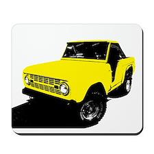 Yellow Bronco Mousepad