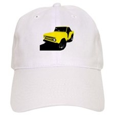 Yellow Bronco Baseball Cap