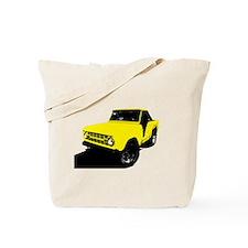 Yellow Bronco Tote Bag