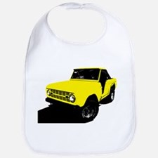 Yellow Bronco Bib